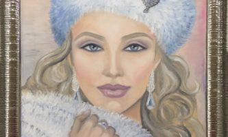 """Картината """"Северна красавица"""" дарена за спасяване на живот"""