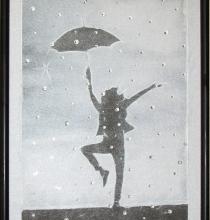 "Кристална картина ""Dancing in the Rain"""