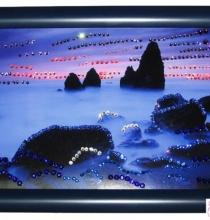 """Кристална картина """"Синя утрин"""""""