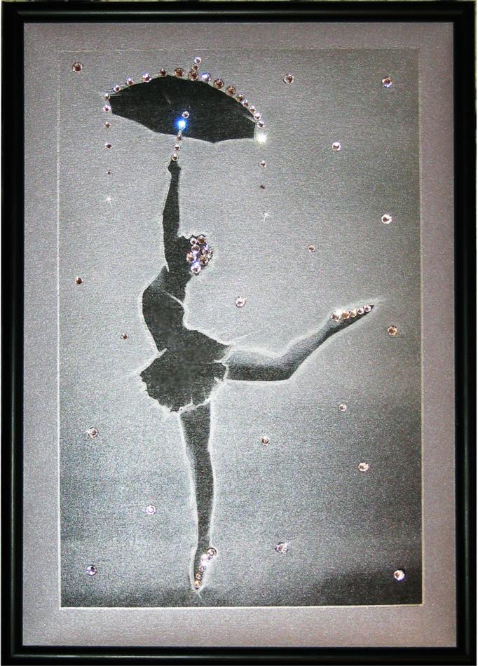 """Кристална картина \""""Балерина\"""""""