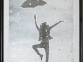 "Кристална картина ""Dancing in the Rain"""