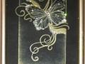 """Кристална картина """"Пеперуда"""""""