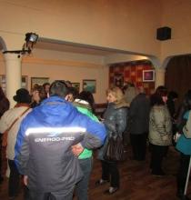 """Откриване изложба """"Вдъхновена"""" на Невена Пощарова"""
