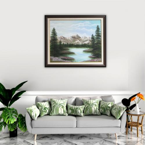 Mountain_landscape_fon_Nevena_Poshtarova_painting
