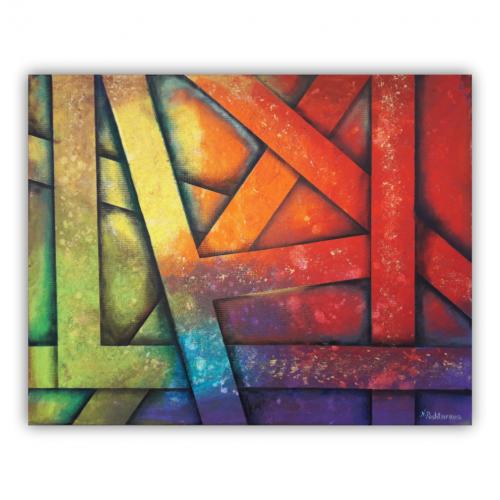 Tangled_colors_Nevena_Poshtarova_painting