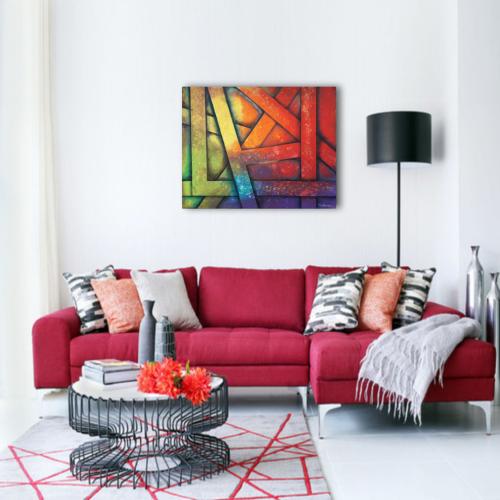 Tangled_colors_fon_Nevena_Poshtarova_painting