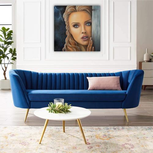 V_ochakvane_na_utreshnia_den_fon_Nevena_Poshtarova_painting